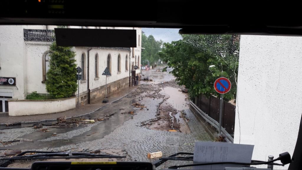 Das Unglück in Niederwartha