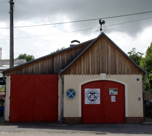 Gerätehaus Feuerwehr Oberwartha