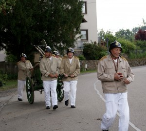 Löscheinsatz der Alten kameraden aus Mobschatz