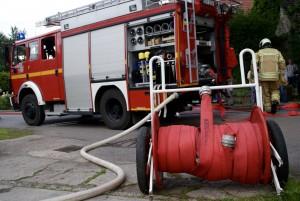 Feuerwehr Cossebaude unterstützt