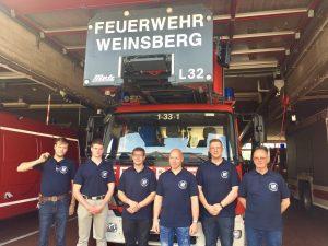 Feuerwehr Cossebaude zu Besuch in Weinsberg