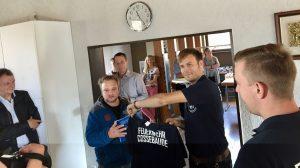 Besuch Feuerwehr Weinsberg
