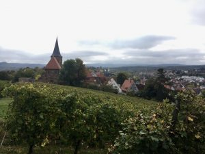 Blick von Weitertreu auf Altstadt Weinsberg