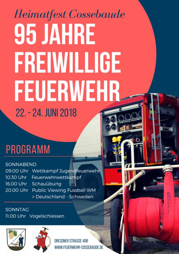 Heimatfest Cossebaude - 95 Jahre Freiwillige Feuerwehr