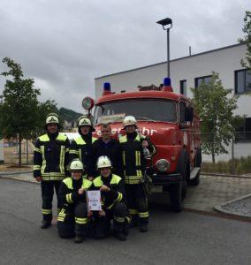 Gewinner Mannschaft Feuerwehr Weinsberg