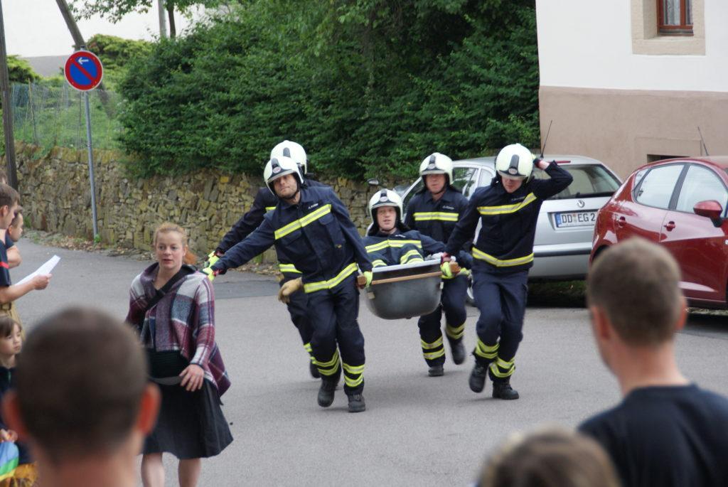 Badewannen Rennen in Ockerwitz