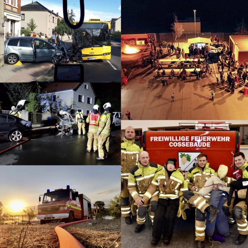 Rückblick 2020 Feuerwehr Cossebaude